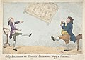Billy Lackbeard and Charley Blackbeard playing at Football MET DP808893.jpg