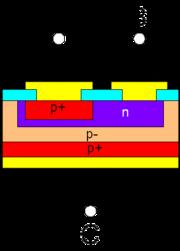 Bipolar Junction Transistor PNP Structure.png