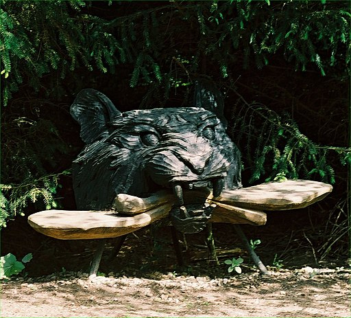Black Tiger and Kissing Seat by Thompson Dagnall
