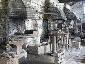 Blacksmith's shop, Big Pit, Blaenavon - geograph.org.uk - 860889.jpg