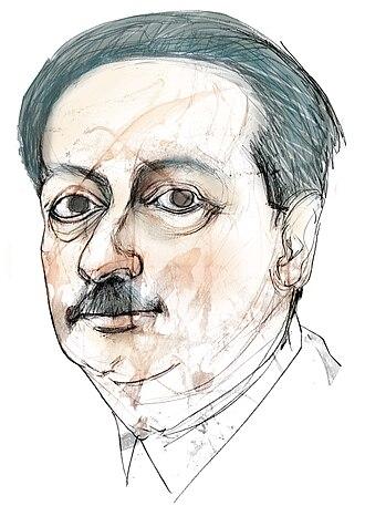Blas Cabrera Felipe - Portrait of Blas Cabrera by Eulogia Merle