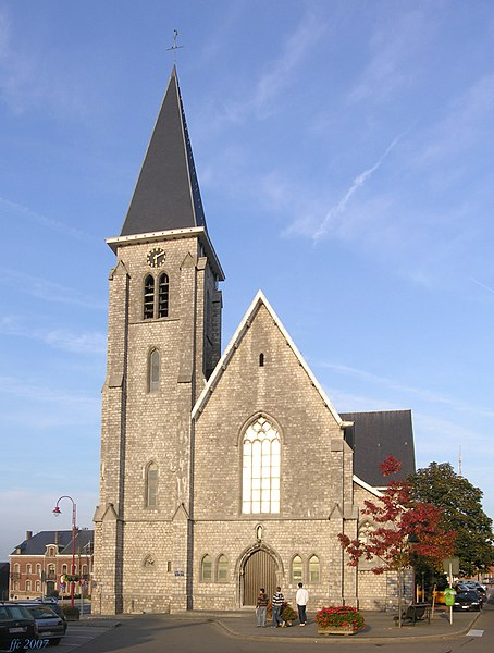 Blegny,  Belgium: Gertrude's Church