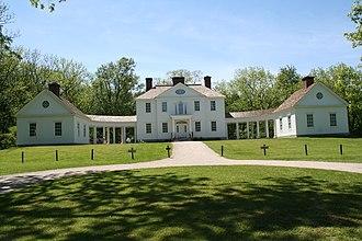 Blennerhassett Island Historical State Park - Reconstructed Blennerhassett Mansion, 2008