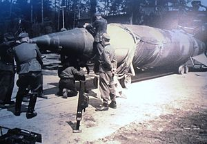 Blizna - V-2 rocket in Blizna