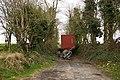 Blocked lane - geograph.org.uk - 770783.jpg