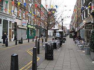 Lambs Conduit Street street in London Borough of Camden, United Kingdom