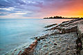 Blue-pink-orange sky at sunset, Woodbine Beach, Toronto, Canada.jpg