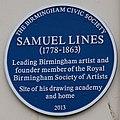 Blue plaque - Birmingham Samuel Lines.jpg
