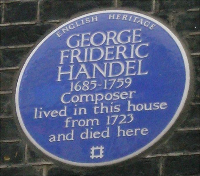 File:Blue plaque Handel.jpg