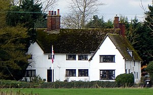 Grade II* listed buildings in North Hertfordshire - Image: Bluegates Farmhouse, Ashwell, Hertfordshire 2014 03 02
