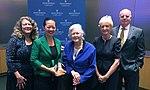 Board Member Dinh-Zarr presented with the Community Hero Award (37242218970).jpg