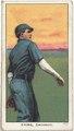 Bob Ewing, Cincinnati Red, baseball card portrait LCCN2008675154.tif