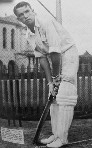 Bob Simpson (cricketer) - Image: Bob Simpson young