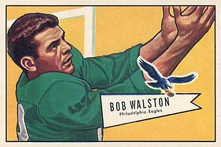 Bobby Walston American football player