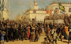 Constitution of Uruguay - The 1830 Constitution of Uruguay coming into force