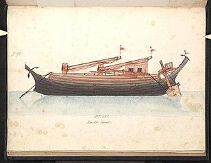Sat-lay. Built boat