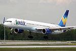 Boeing 757-330 Condor D-ABOA (14244363732).jpg