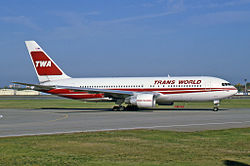 Trans World Airlines Boeing 767-231ER (1993)