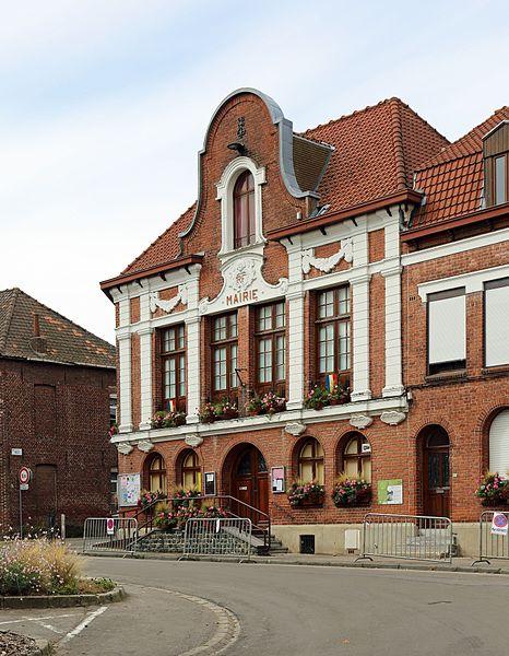 Boeschepe (Département du Nord, France): town hall