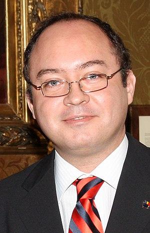 Bogdan Aurescu - Image: Bogdan Aurescu (cropped)