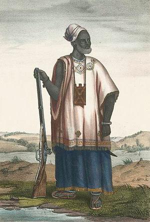 Wolof people - Image: Boilat 04 Mari de la reine du Walo, wolof