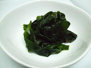 Wakame - Image: Boiled wakame