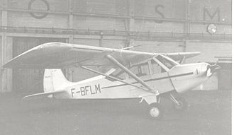 Société Boisavia - Boisavia B.601 Mercurey at Manchester in August 1953