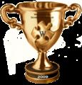 Bokaal schrijfwedstrijd 2009.png
