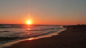 Bolsa Chica State Beach - Image: Bolsa Chica State Beach sunset