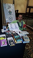 BookSwapping at Wikimania 2018 20180722 151806 (28).jpg