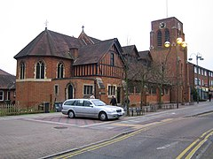 Die All Saints Church in Borehamwood