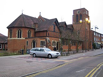 Borehamwood - Image: Borehamwood All Saints Church geograph.org.uk 387154