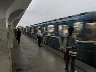 Borovitskaya (Moscow Metro) - Station platform