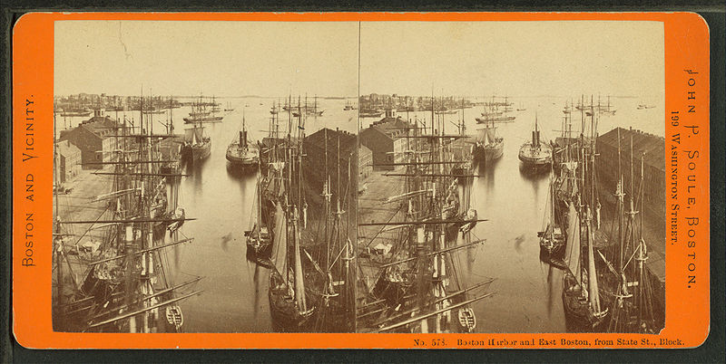 File:Boston harbor and East Boston from State St. block, by Soule, John P., 1827-1904.jpg