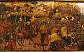 Bottega di paolo uccello, pannelli di cassone con armi medici e rucellai, firenze, 1466 ca. 03.JPG