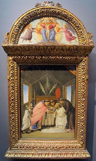 Botticelli, comunione con san girolamo, 1490-95 ca. 01.JPG