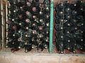 Bottles of wine in the wine cellars of Cojuşna winery (188833501).jpg