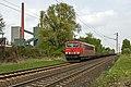 Bottrop(Kokerei Prosper) DB 155 048-2 staalwagens (13856162474).jpg