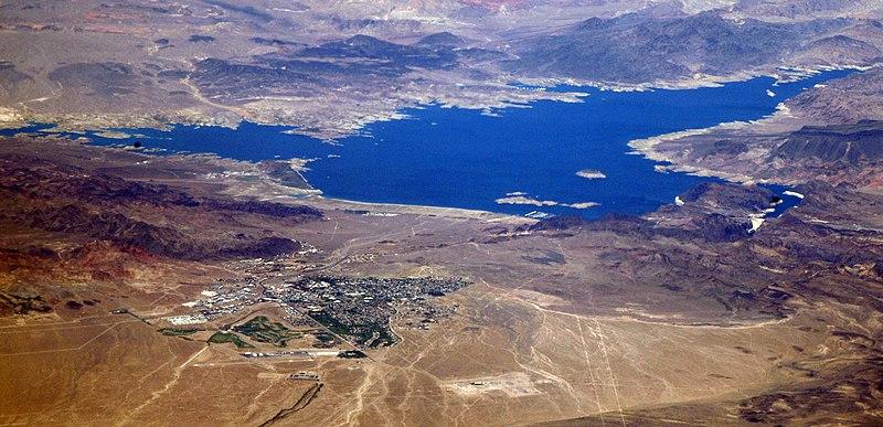 File:Boulder City and Lake Mead.jpg