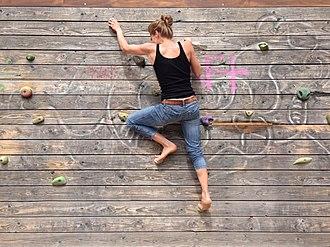 Climbing wall - Boulder Dash