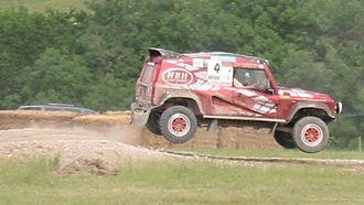Rally raid - Bowler Wildcat rally-raid vehicle