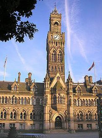 City of Bradford - Image: Bradford City Town Hall