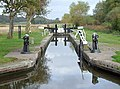 Branston Lock, Trent and Mersey Canal, Staffordshire - geograph.org.uk - 1553247.jpg