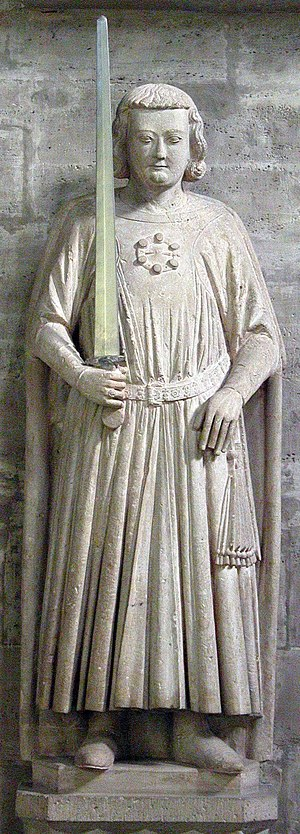 Henry the Lion - Statue in Brunswick Cathedral, ca. 1225-1250, said to represent Henry the Lion