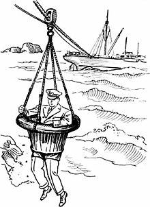 breeches buoy wiktionary