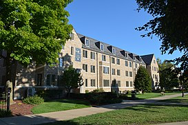 University Of Notre Dame Residence Halls Wikipedia
