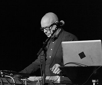 Recording studio as an instrument - Brian Eno at a live remix in 2012
