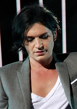 Brian Molko in the European Parliament (cropped).jpg