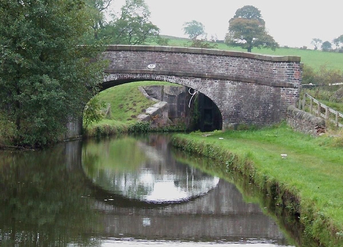 Bridge No 37, Caldon Canal, Hazelhurst Junction, Staffordshire - geograph.org.uk - 596340.jpg
