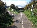Bridge across the former railway line, at Littleham - geograph.org.uk - 1224828.jpg